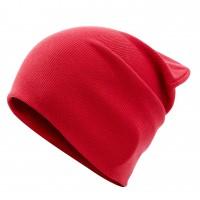 BEMBI dvigubos medvilnės kepurė Abstract (raudona)