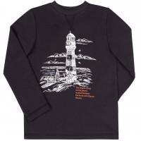 Marškinėliai ilgomis rankovėmis Oceans (juodos spl.)