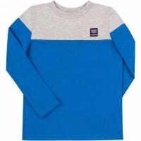 Marškinėliai ilgomis rankovėmis  London (pilkos/melsvos splv.)