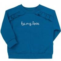 Džemperis mergaitei Be My Love (turkio spalvos)