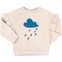 Šiltas džemperis mergaitei Lietus (biežinės spalvos)