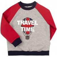 Šiltas džemperis (su pūkeliu) Travel Time