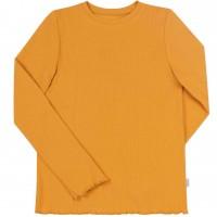 Vienspalviai marškinėliai - palaidinė (garstyčių spalvos)