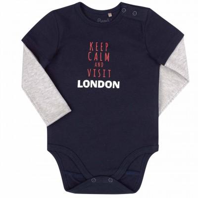 Smėlinukas ilgomis rankovėmis London (tamsiai mėlynas)