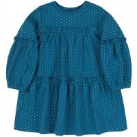 Trikotažinė suknelė Taškiukai (turkio spalvos)