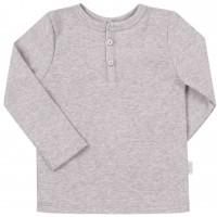 Vienspalviai marškinėliai ilgomis rankovėmis (pilkos spalv.)
