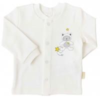 Marškinėliai kūdikiui My Star pieno spl.