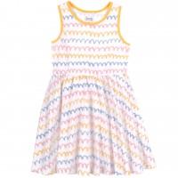 Trikotažinė suknelė mergaitei