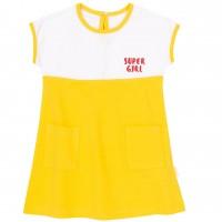 Suknelė Super Girl (geltona)
