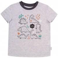 Marškinėliai Hello Dino (pilki)