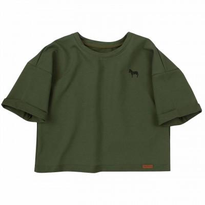 2 dalių marškinėlių komplektas Zebra (chaki) Safari