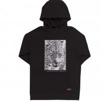 Juodas ilgas džemperis Safari