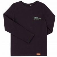 Juodi marškinėliai Safari