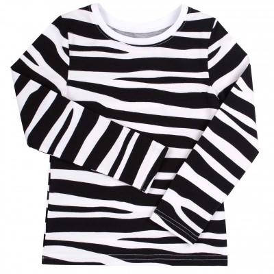 2 dalių palaidinių komplektas Zebra (balta) Safari