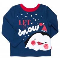 Kalėdiniai marškinėliai berniukui Let it Snow m.