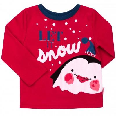 Kalėdiniai marškinėliai berniukui Let it Snow r.