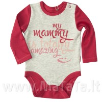"Smėlinukas ""My mammy is totally amazing"""