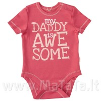 "Smėlinukas ""My Daddy is awe some"""