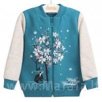 """Šiltas džemperis """"Winter wonderland"""" mėtinės spl."""