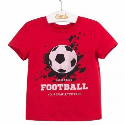 """Marškinėliai berniukui """"Football"""""""