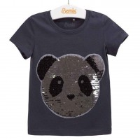 """Žvyneliais puošta palaidinė mergaitei """"Panda"""""""