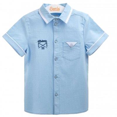 Medvilniniai marškiniai berniukui