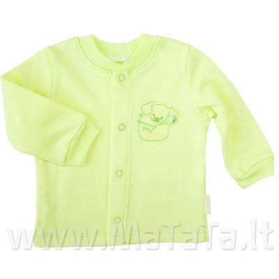Šilti marškinėliai (su pūkeliu) salotinės spl.