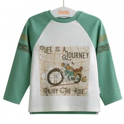 Marškinėliai berniukui Ride