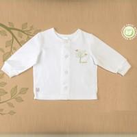 Ekologiškos medvilnės marškinėliai naujagimiui