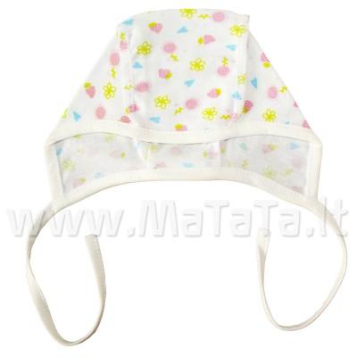 Kepurė kūdikiui, mergaitei