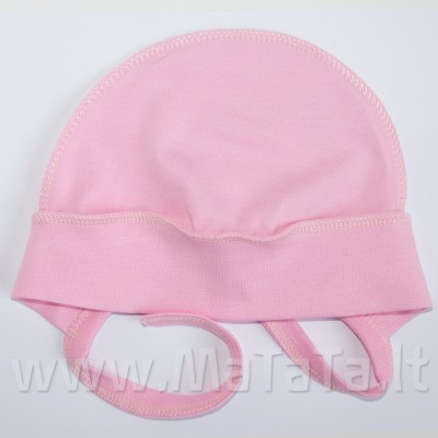 Kepurė kūdikiui (rausva)