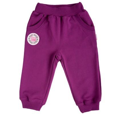 Sportinės kelnės (violetinės spl.)