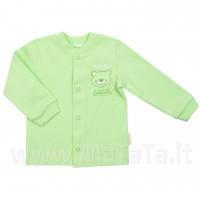 """Marškinėliai kūdikiui """"Bear mate"""" žalsv."""