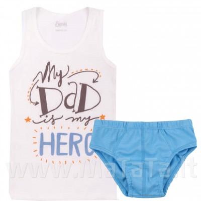 Apatinių marškinėlių ir trumpikių komplektas