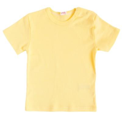Apatiniai marškinėliai trumpomis rankovėmis (gelsva)