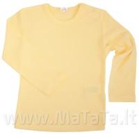 Apatiniai marškinėliai ilgomis rankovėmis (gelsva)