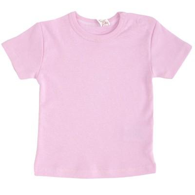 Apatiniai marškinėliai trumpomis rankovėmis (rausva)