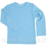 Apatiniai marškinėliai ilgomis rankovėmis (melsva)