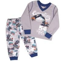 Šilta (su pūkeliu) vaikiška pižama