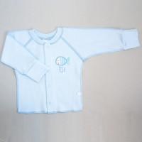 Marškinėliai kūdikiui išvirkščiom siūlėm