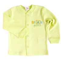 """Marškinėliai kūdikiui """"Bear"""" salotinės spal."""