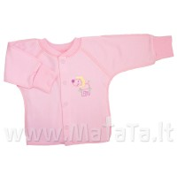 Marškinėliai kūdikiui (su pūkeliu ir pirštinėmis)