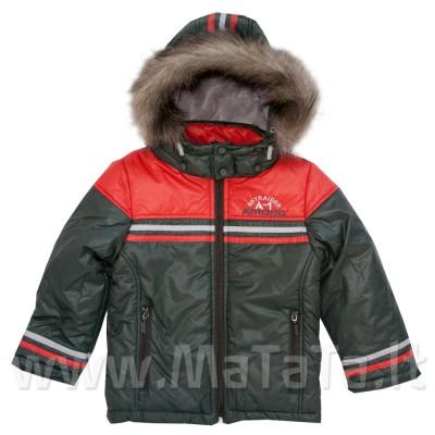 Šilta žieminė striukė berniukui