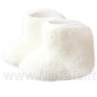 Pliušiniai batukai kūdikiui (pieno sp.)