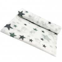 Marlinis (tetra) vystyklas 70*80 cm (pilkos žvaigždės)