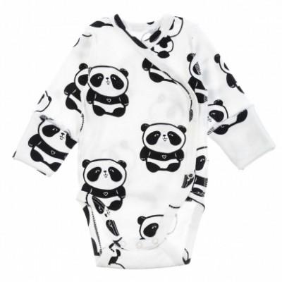 Smėlinukas naujagimiui išvirkščiom siūlėm Panda