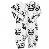 Kombinezonas išvirkščiom siūlėm Panda