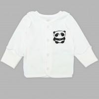 Marškinėliai naujagimiui išvirkščiom siūlėm