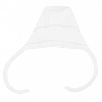 Kepurė kūdikiui išvirkščiom siūlėm (pieno spl.)