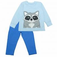 Vaikiška pižama su pūkeliu